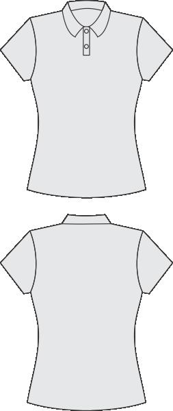 9e305b63d9 Camisa modelo baby look polo